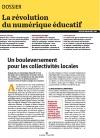 """Dossier """"La révolution du numérique éducatif"""", Gazette des communes"""