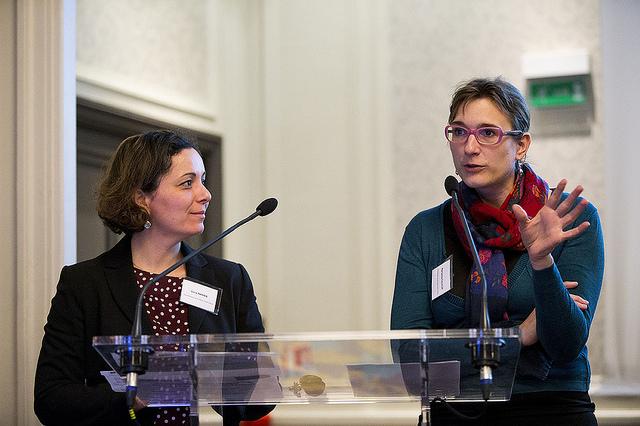 Marianne Falaize et Sara Nanaa, Département de Seine-Saint-Denis